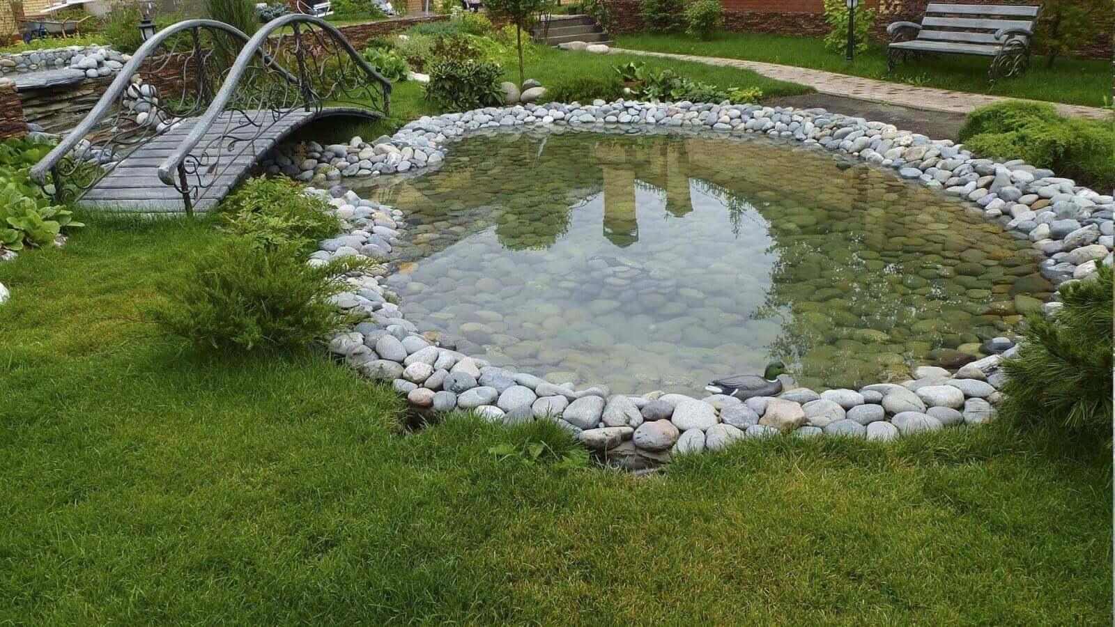 Как на даче сделать водоем для купания