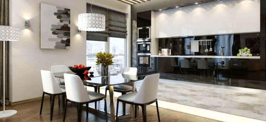 Освещение на кухне - особенности и расчет