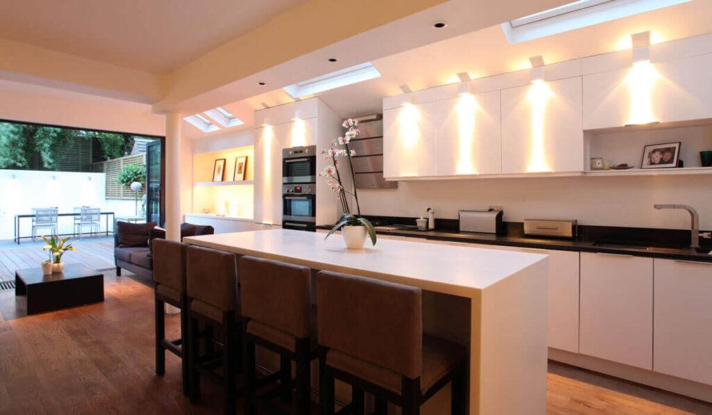 Освещение кухни советы