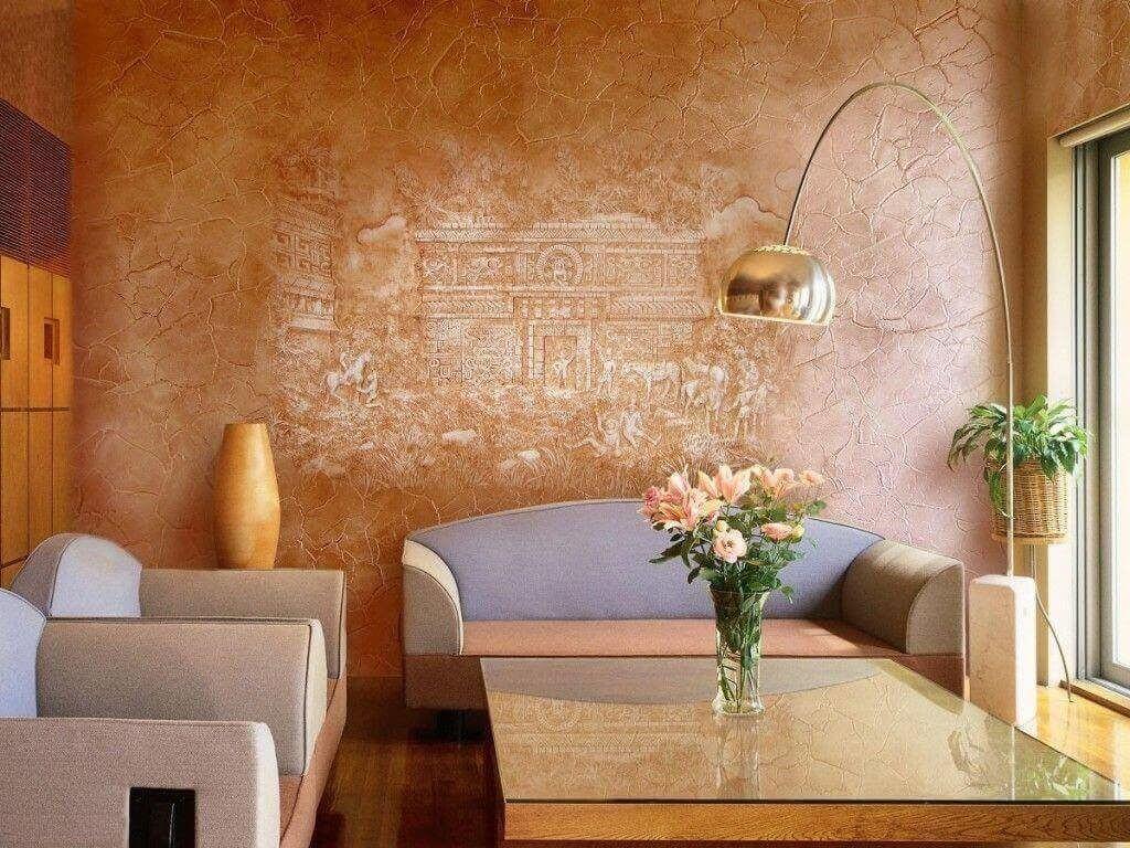 Венецианская штукатурка для отделки стен
