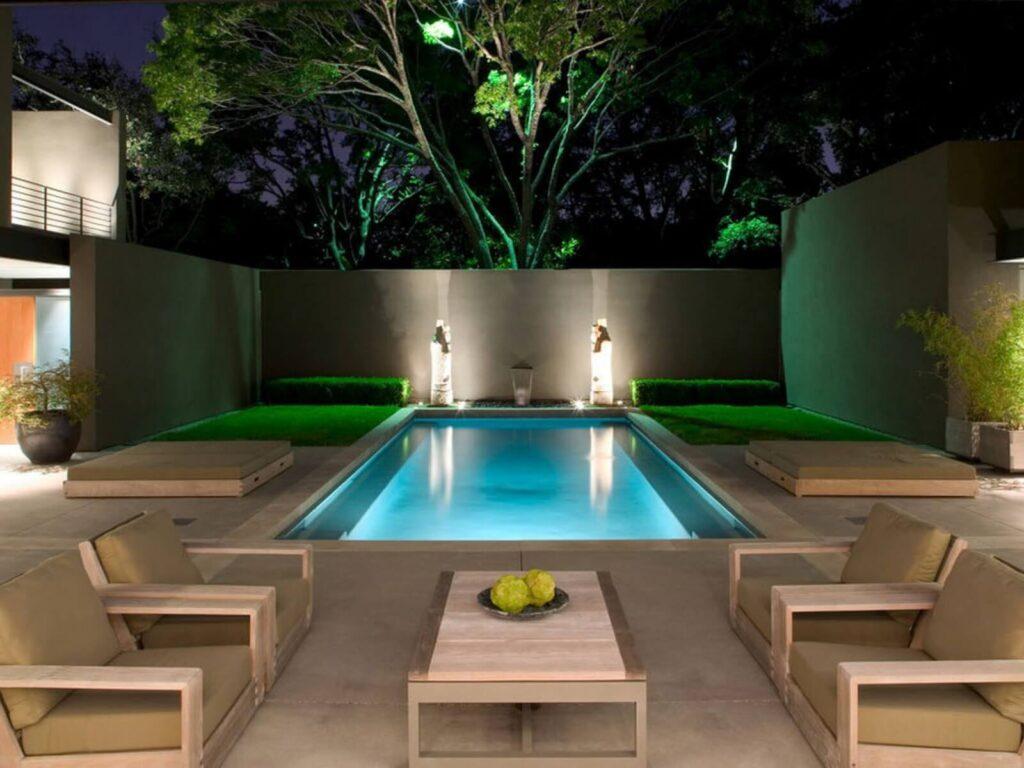 дизайн бассейна на дачном участке