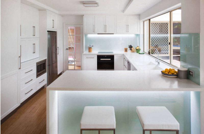 белая кухня дизайн