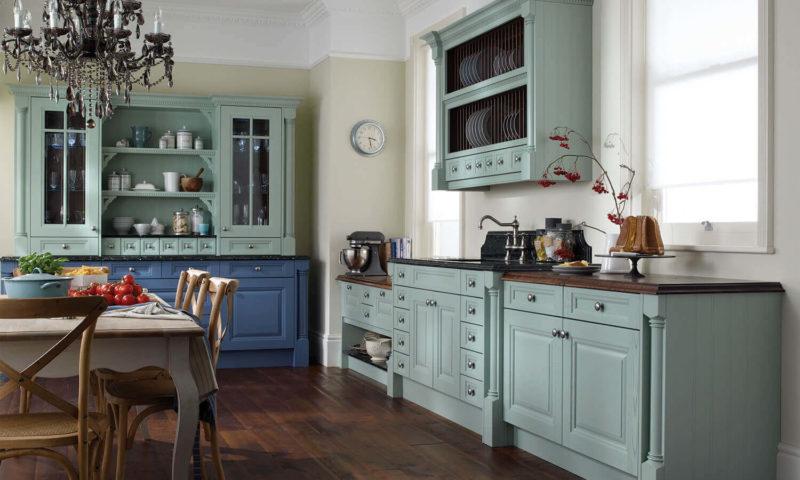 Дизайн кухні в стилі ретро