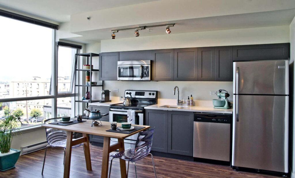 дизайн кухни отделка стен