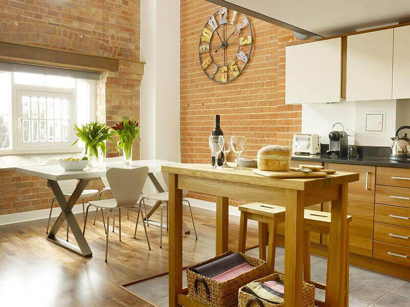 элементы декора стен на кухни