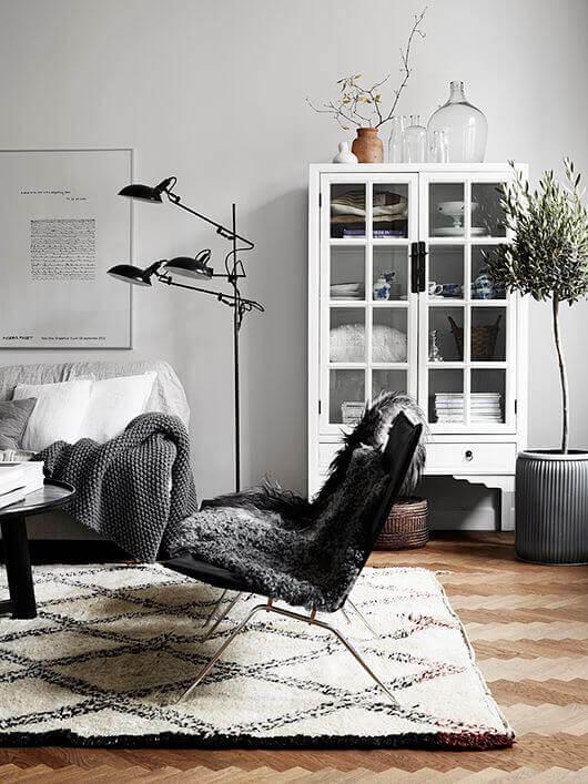 вітальня в скандинавському стилі