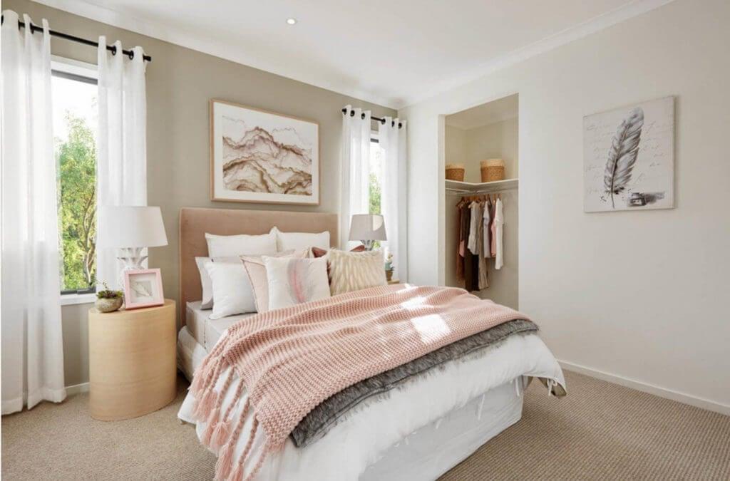 особенности стиля в спальне
