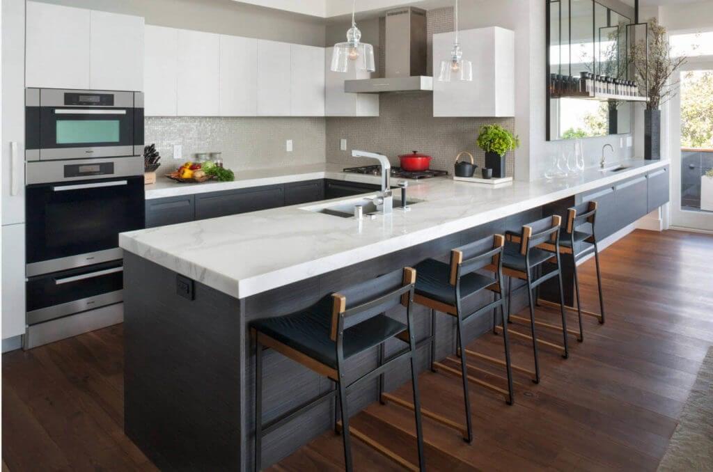 осветление и декор на кухне