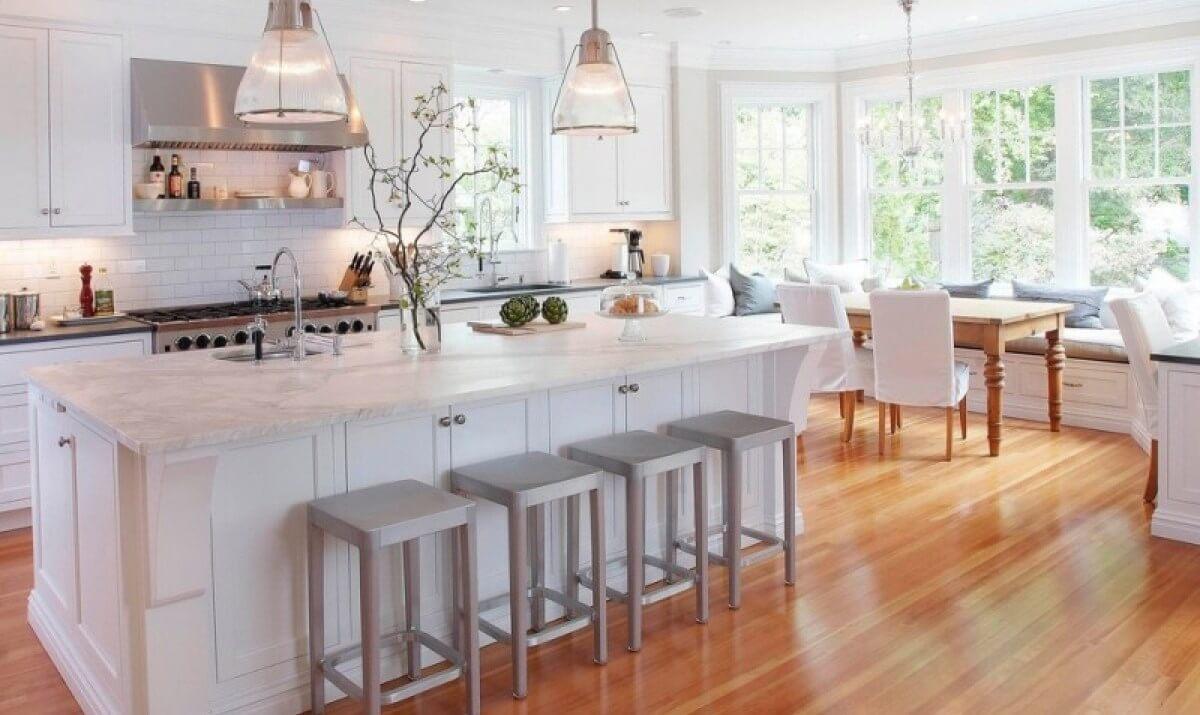 Пол на кухне - какой выбрать