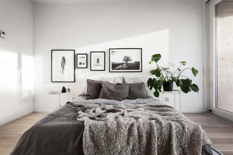 спальня в бежевих тонах