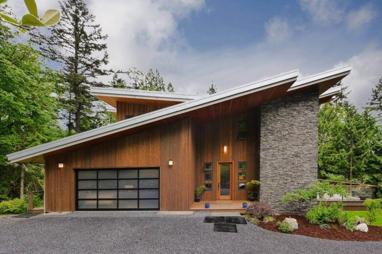 Виды крыш для загородного дома