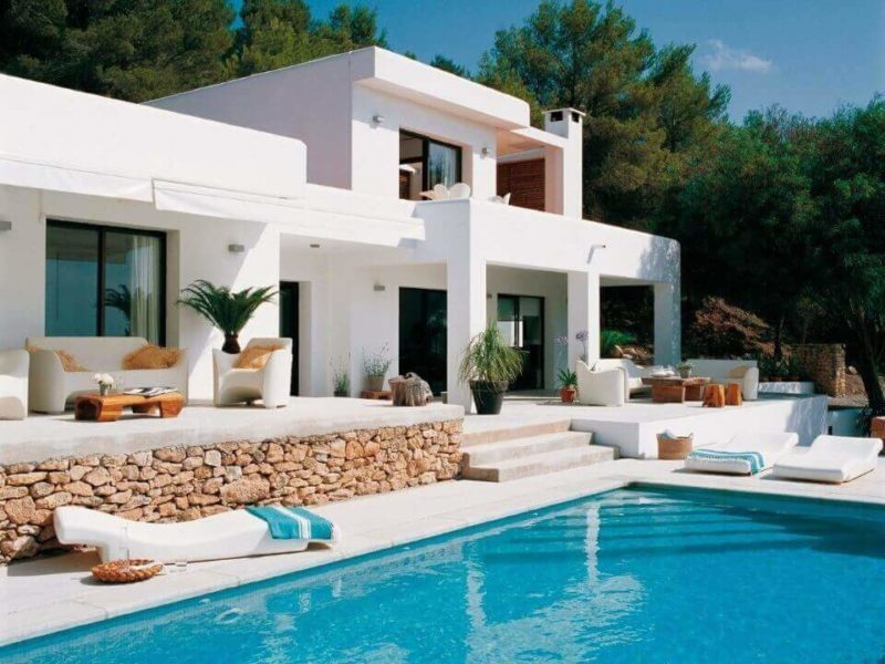 Дом в середземноморском стиле