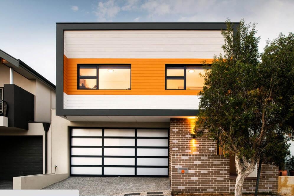 оригинальный дизайн дома