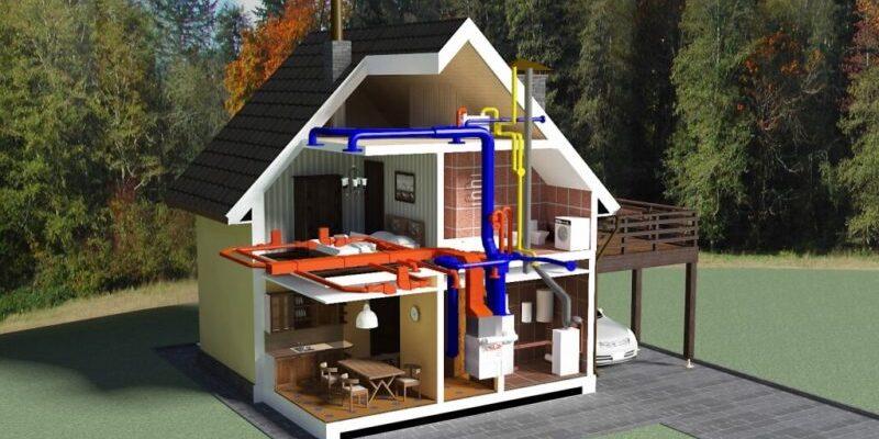 Системы отопления для частного дома