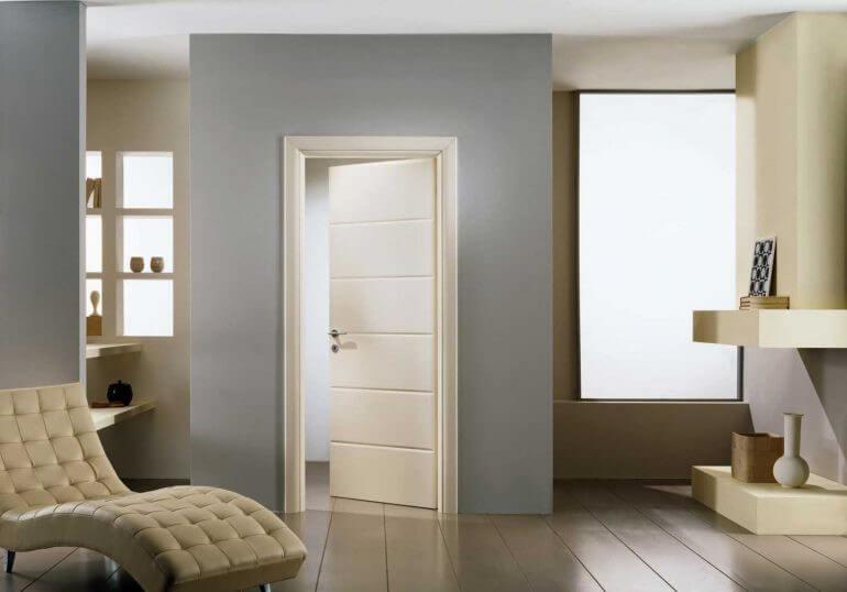Оригинальные межкомнатные двери в интерьере