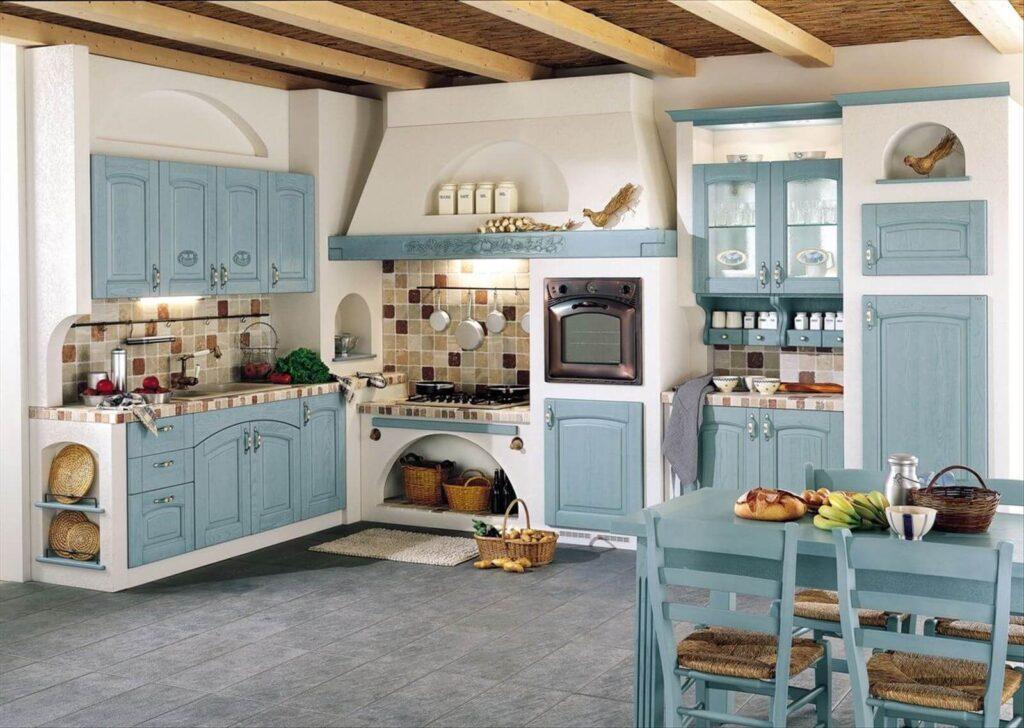 провансальный стиль в интерьере кухни
