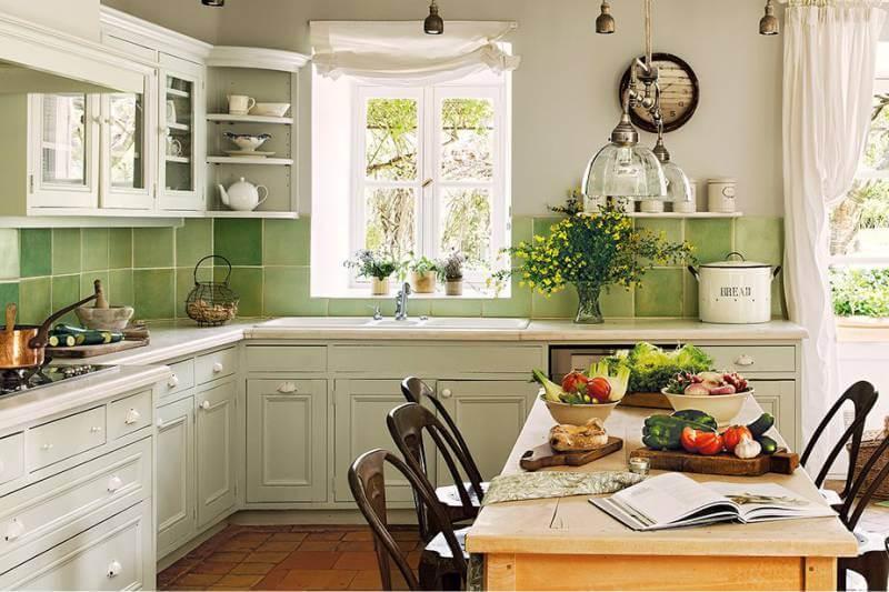 кухня в прованс стиле