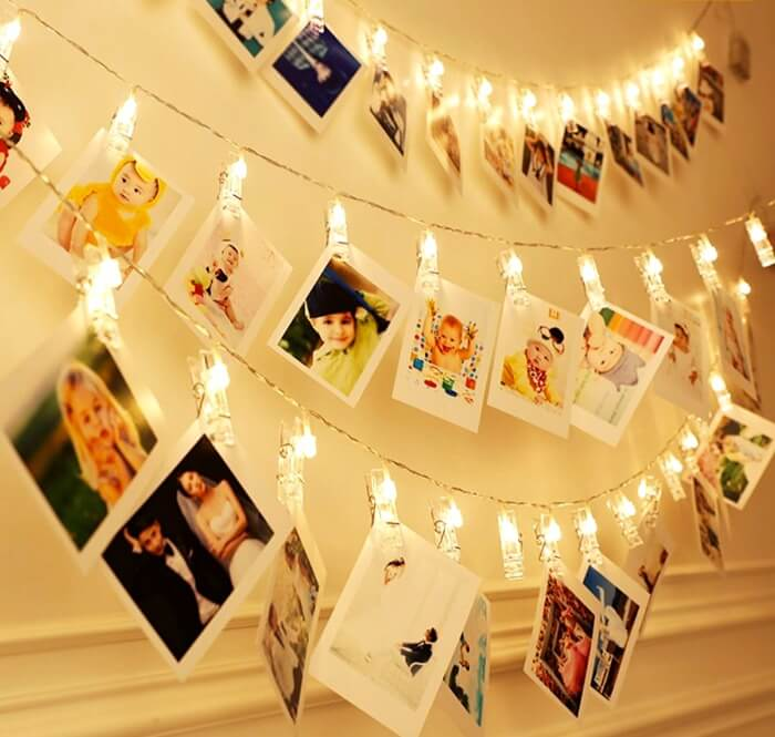 декор стен из фото