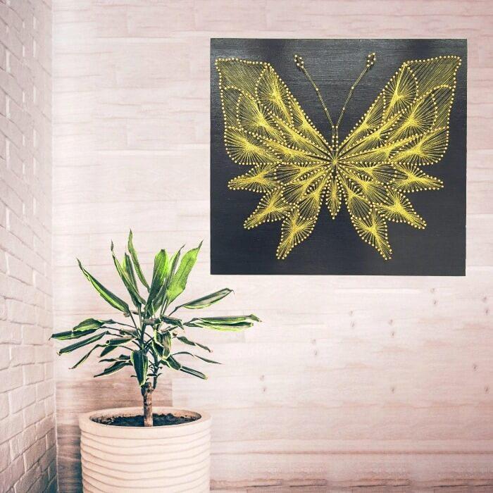 декор стен стринг-арт