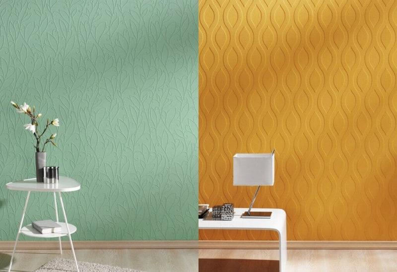 флизелиновые обои под покраску