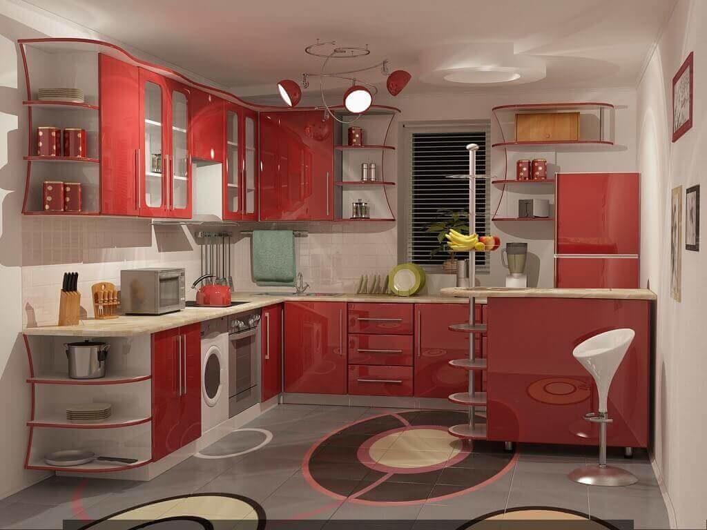 натяжной потолок на кухне как выбрать