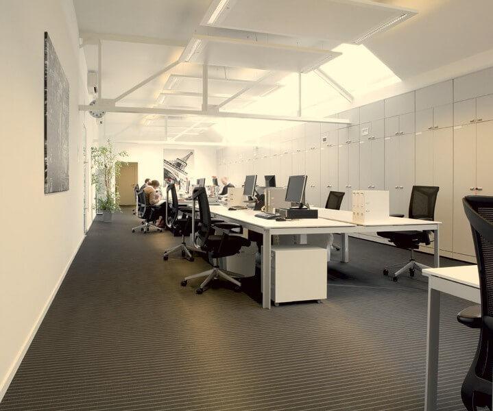 линолеум в офисе