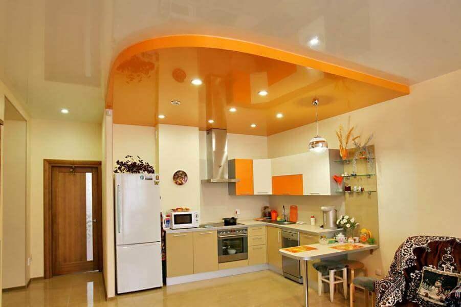 натяжные потолки на кухне как избежать ошибок