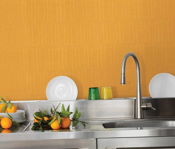 шпалери під фарбування на кухні