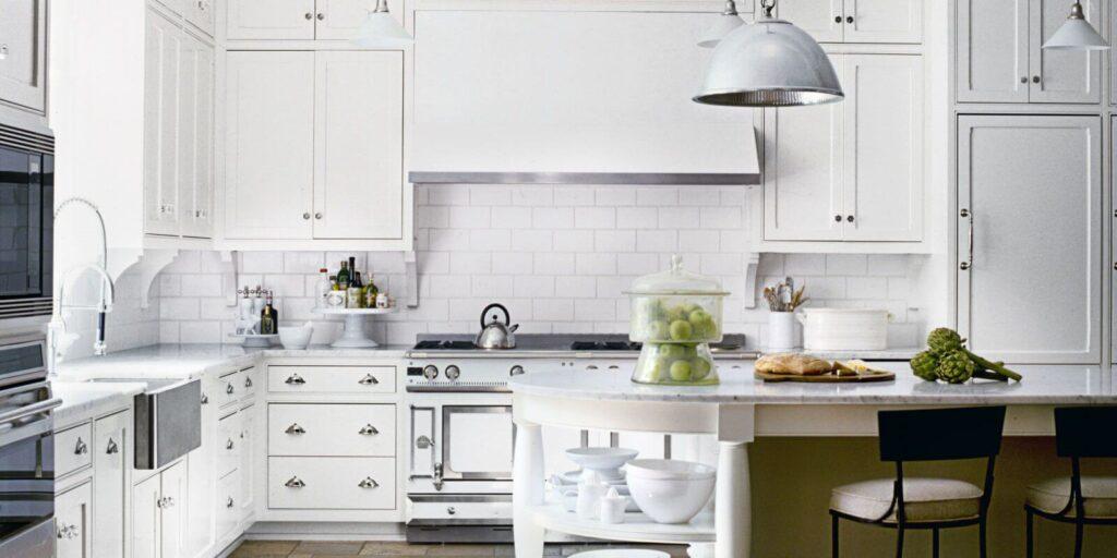 белая кухня по фен шуй