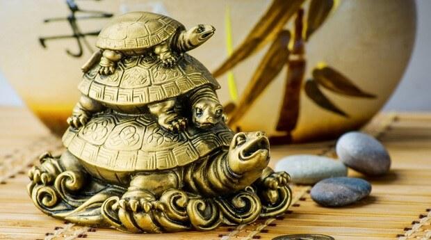 статуэтка черепахи фен шуй