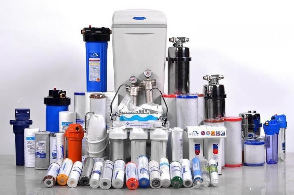 типы фильтров для очистки воды