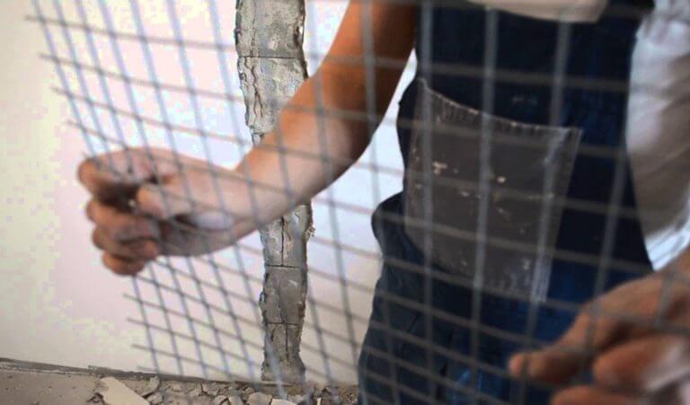 Малярная сетка для шпаклевке стен