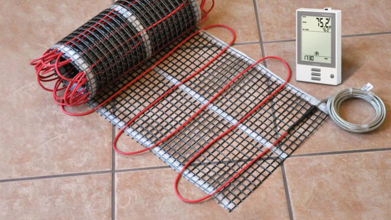 кабельна тепла підлога