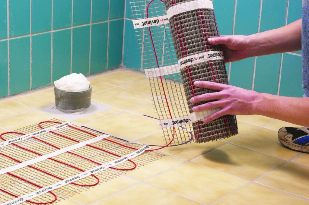 тепла підлога для будинку