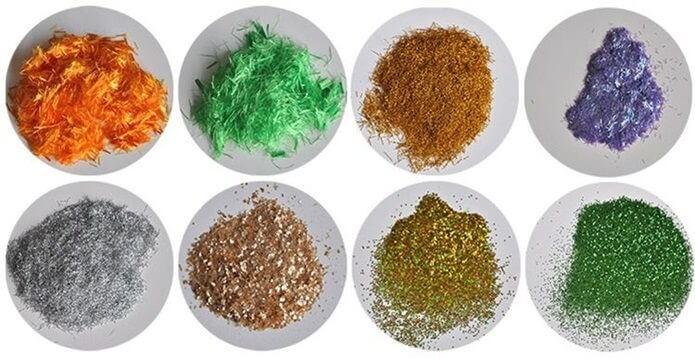 Види декоративних добавок для рідких шпалер