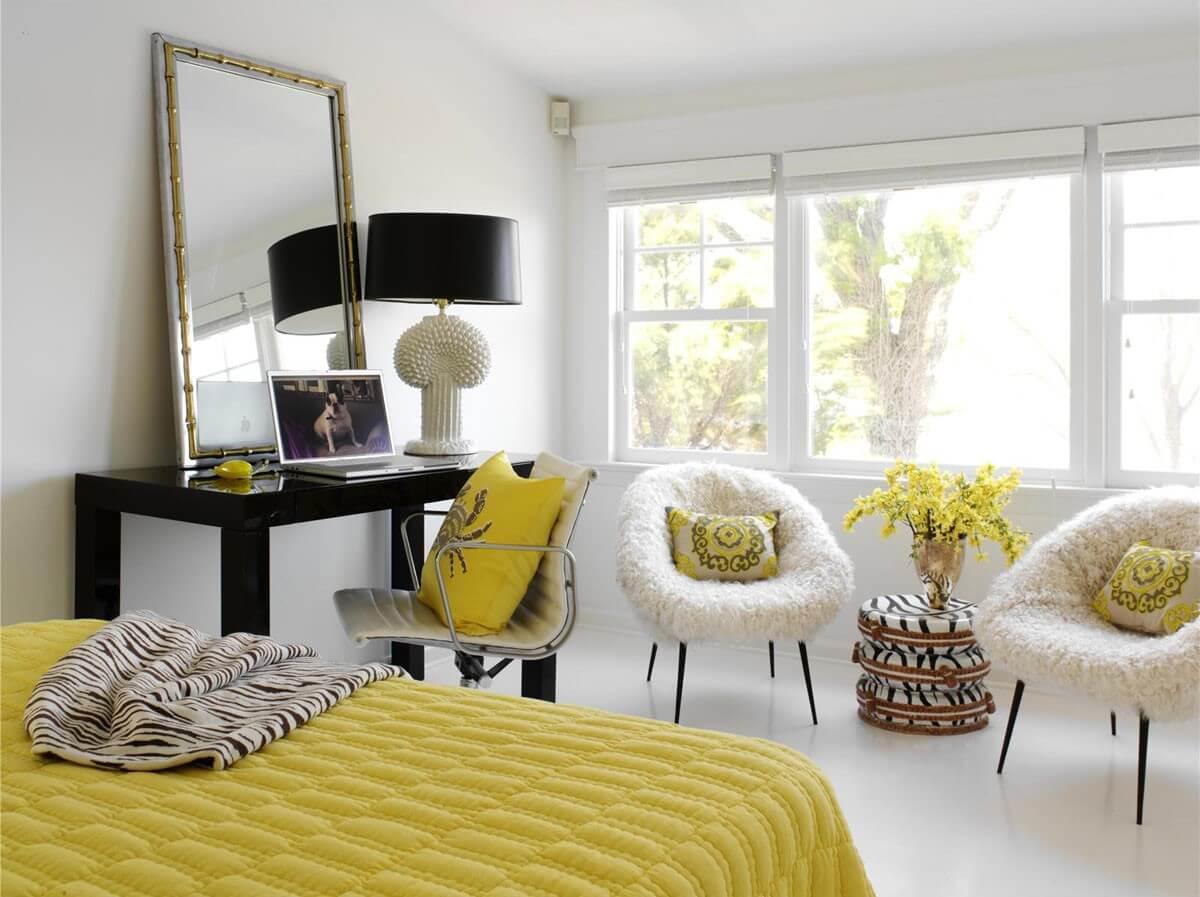 декоративные подушки в стиле контемпорари