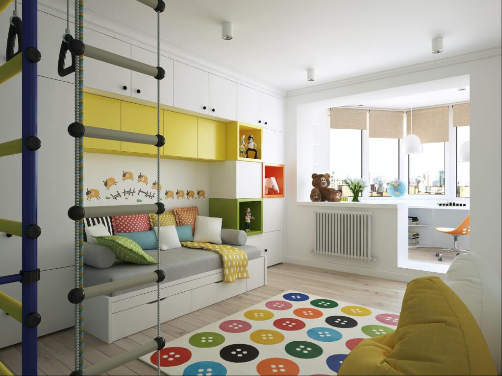 детская комната контемпорари