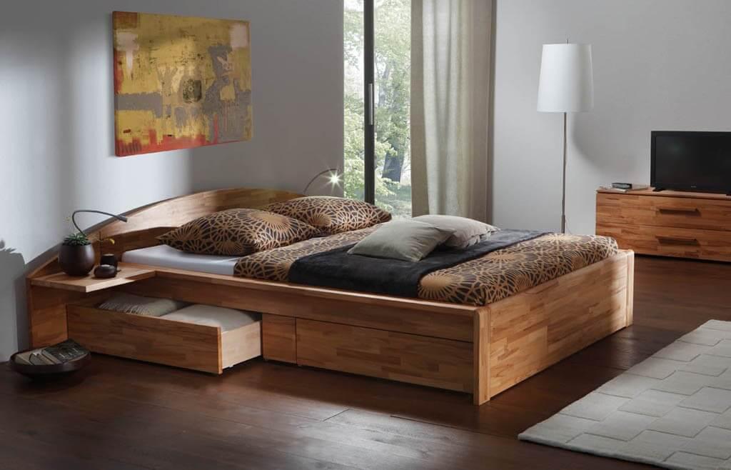 Кровать со встроенной системой хранения