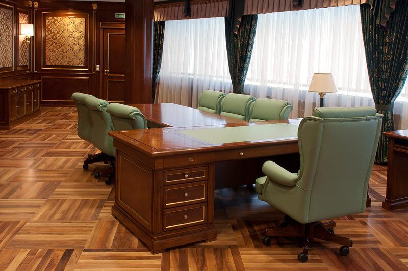 кабинет мебель из натуральных материалов