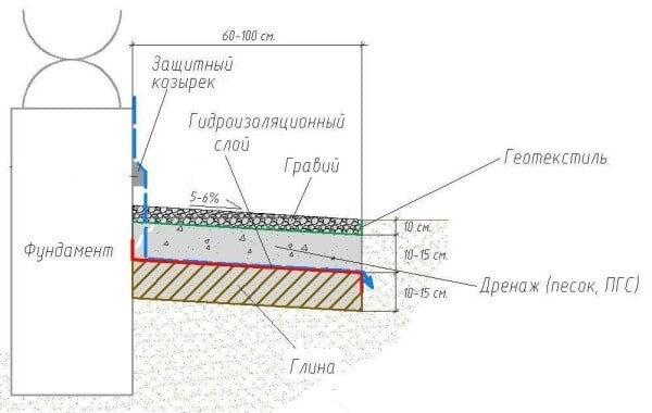 структура м'якої відмостки