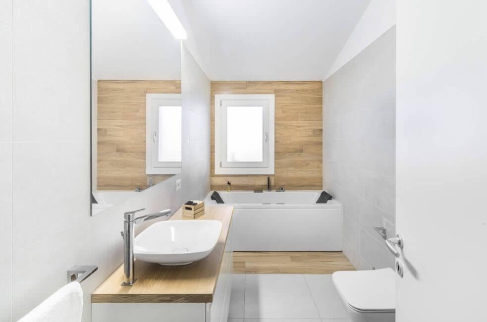 оздоблення стін у ванній