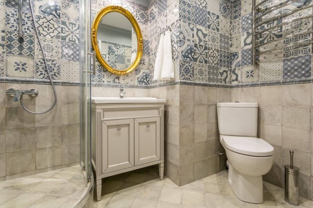ванна в стилі прованс