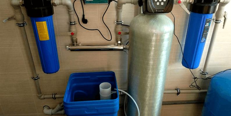 комплексная очистка воды для дома