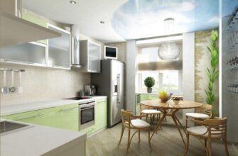 кухня на балконі