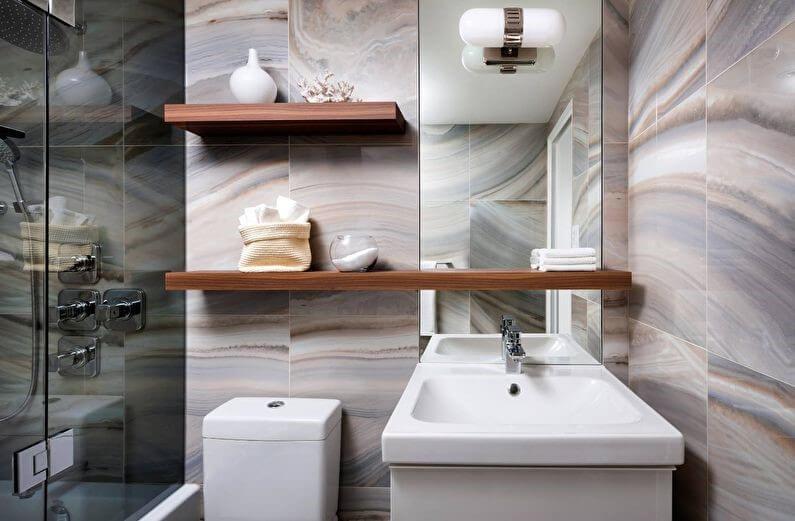 меблі в маленькій ванній