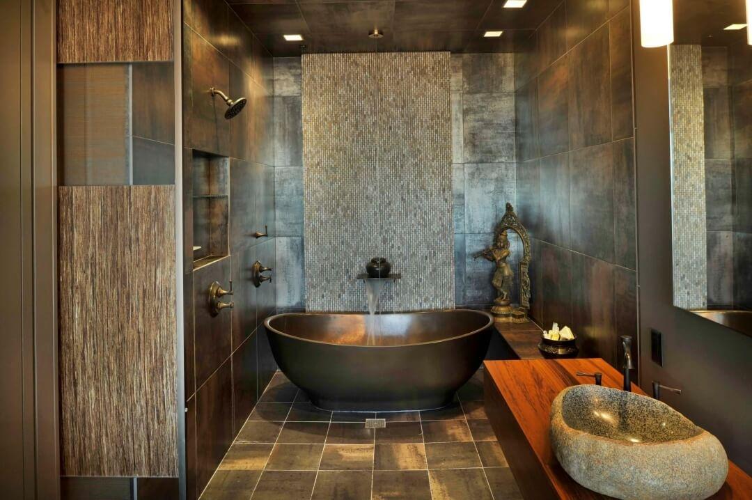 Оригінальний дизайн ванної кімнати