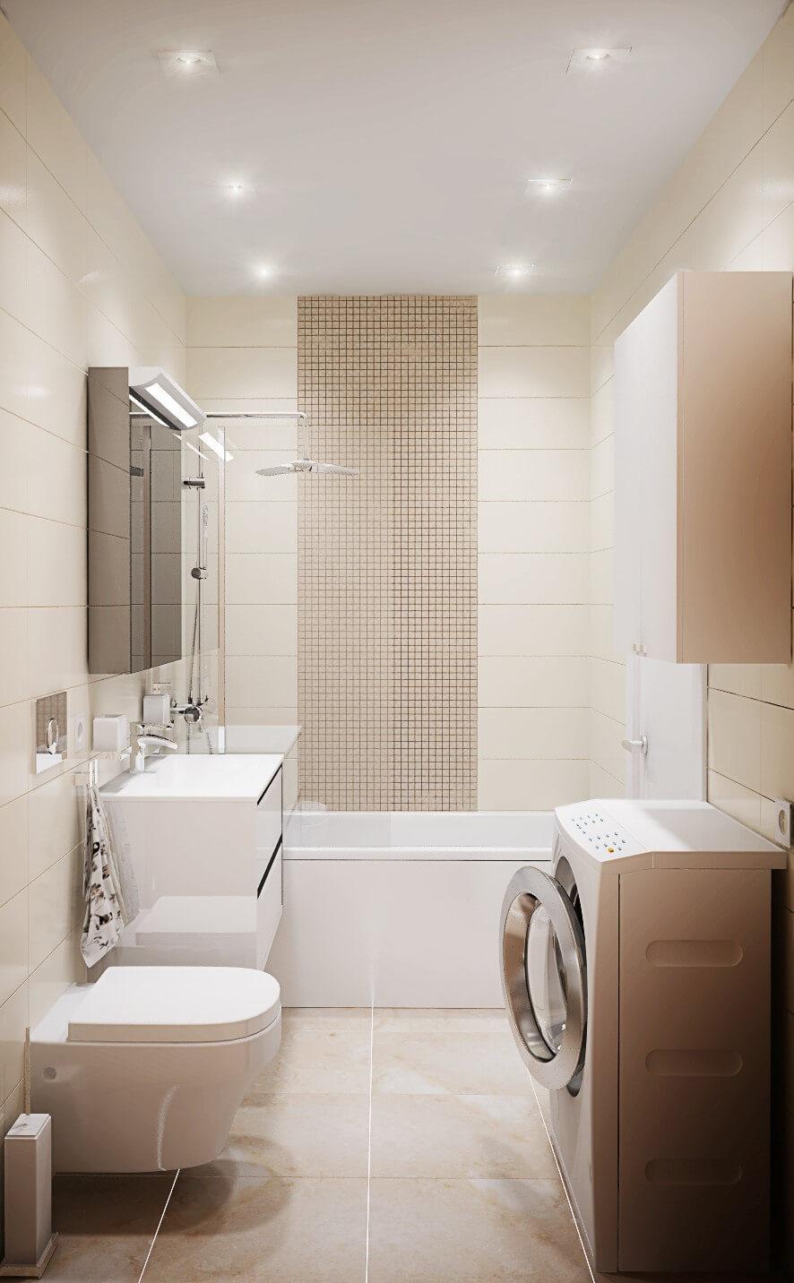 Освітлення ванної кімнати 5 кв. м