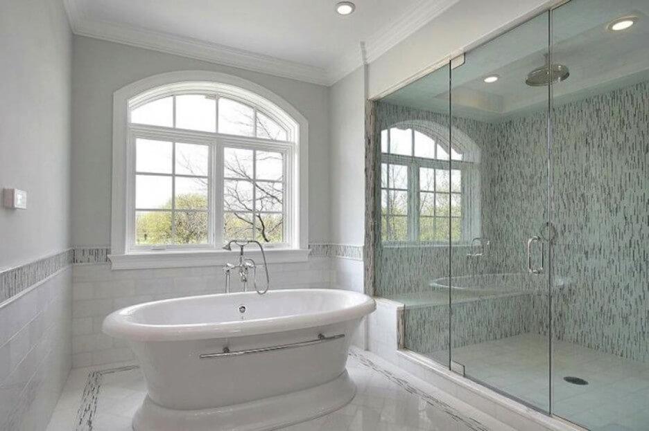 покраска и шпаклевка потолка ванной