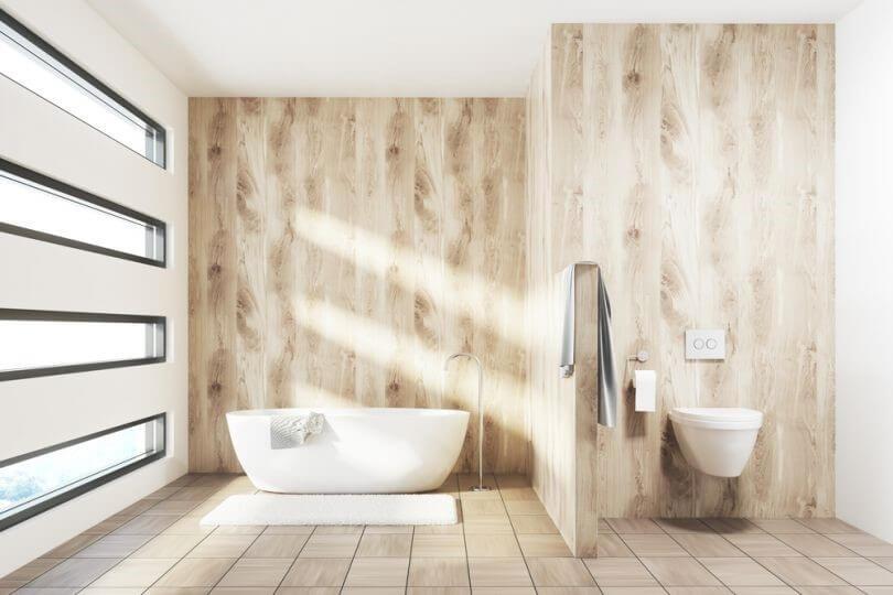 отделка стен в ванной пвх панелями