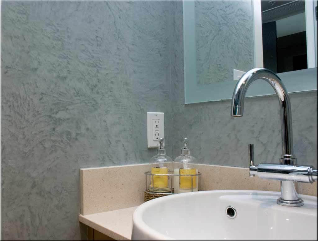 штукатурка стін ванної